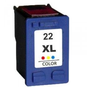 Tinteiro Compatível HP 22XL Tricolor Portes Grátis.