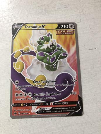 Carta pokemon tornadusV
