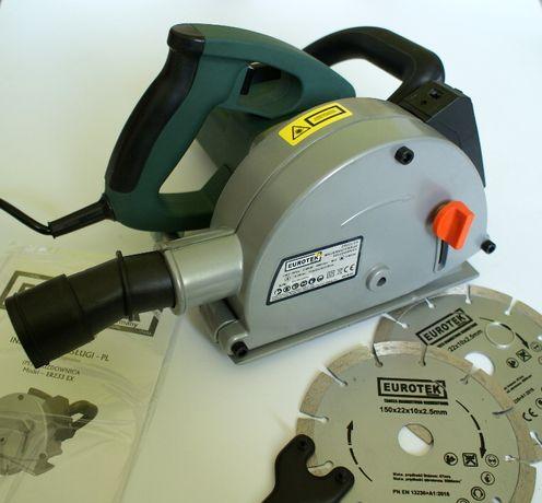 Bruzdownica z Laserem 2950W +2 Tarcze 150mm