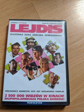 Płyta Lejdis film polska komedia VCD