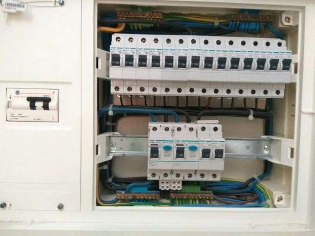 Electricista certificado (dge)Lisboa, cascais, oeiras, Sintra, Setúbal
