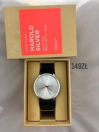 Zegarek Harold Silver