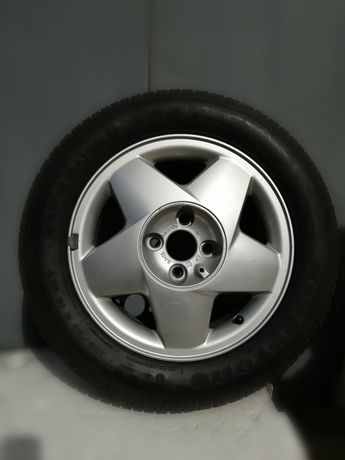 Колесо диск Опель Вектра А 195/60/R15,резина Firestone