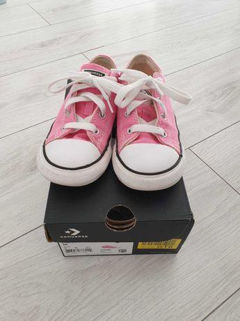 Buty Trampki Converse 26 różowe