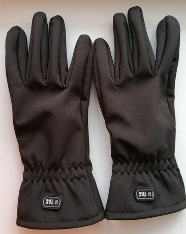 Зимние перчатки M-Tac Winter Soft Shell Black