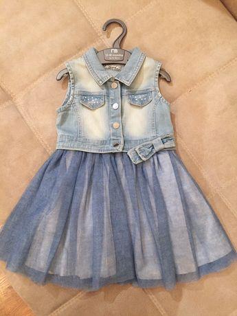 Платье джинсовое Mayoral