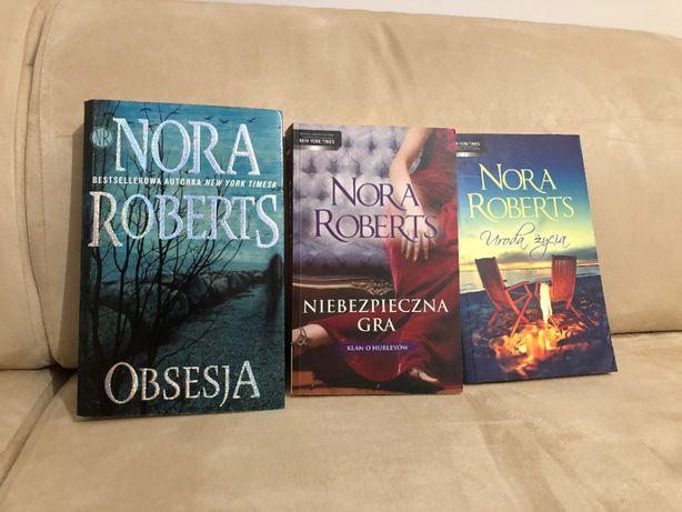 Trzy różne książki Nory Roberts