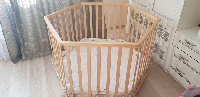 Детская кроватка/детский манеж/кровать немецкая Roba Германия