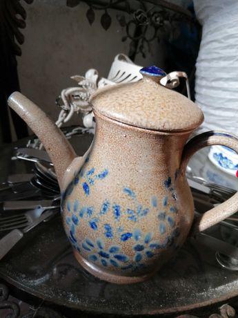 Bule de Chá em cerâmica vintage