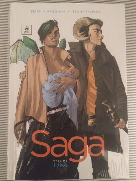 Saga - Volume Um, Brian K. Vaughan, Filma Staples