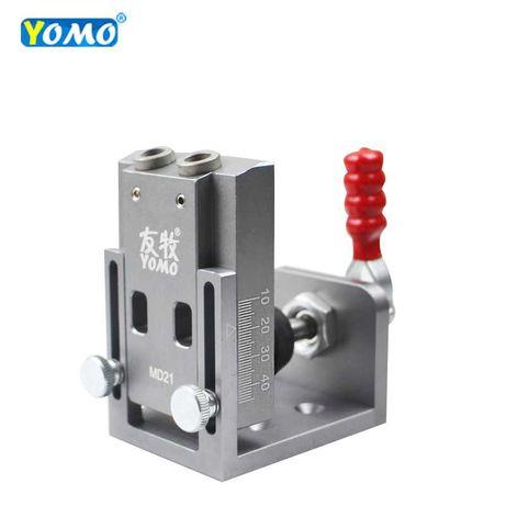 Мебельный кондуктор для сверления отверстий для угловых соединений