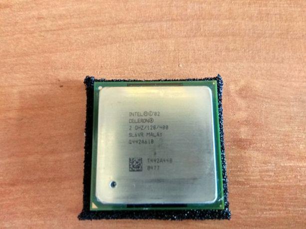 Процессор Intel Celeron SL6VR MALAY 2Ггц