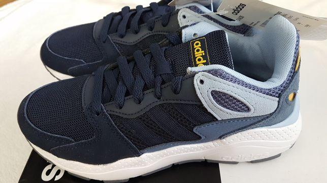 Подростковые кроссовки Adidas Chaos 36р,двух цветов,стелька 23см,ориг.