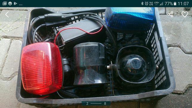 Kogut lampa ostrzegawcze Led motor policja straż ambulans karetka pogo
