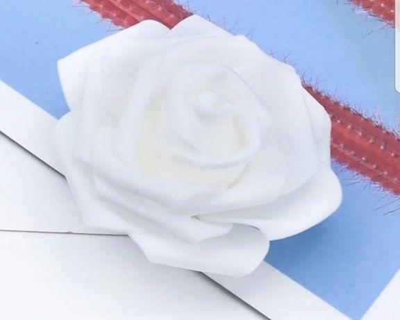 Główki kwiatów piankowe i nie tylko