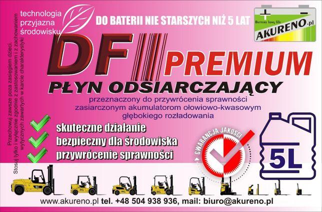Płyn DF-PREMIUM 5L odsiarczający akumulatory wózki widłowe, paletowe