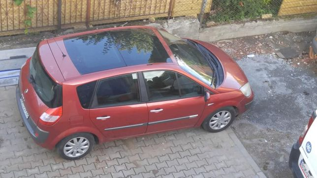 Renault scenic 1.9 hdi z 2004r zamiana
