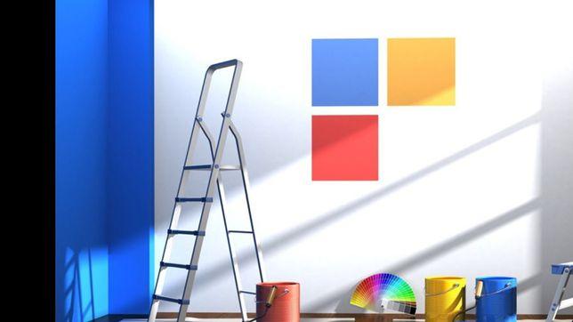 Malowanie ścian/Układanie paneli podłogowych itp.