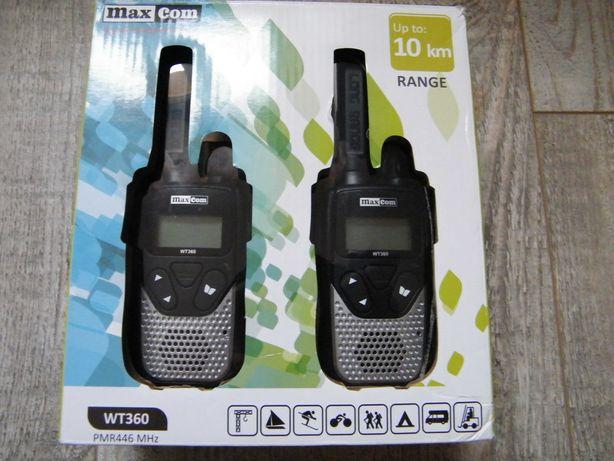 Radiotelefony maxcom WT360 używane w idealnym stanie.