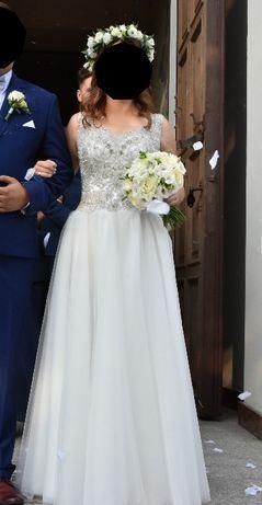 Suknia ślubna szyta w salonie STYL
