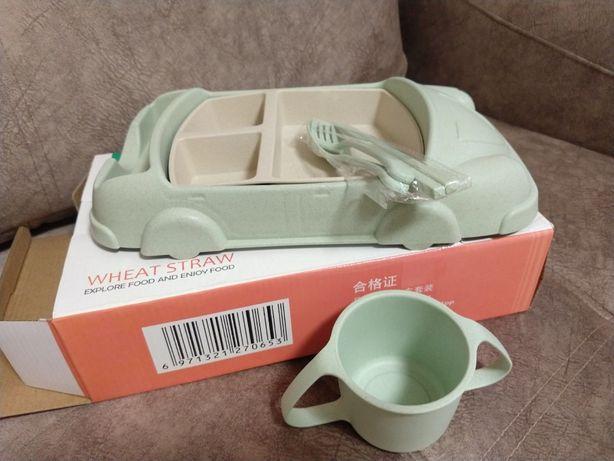 Детская посуда из биопластика