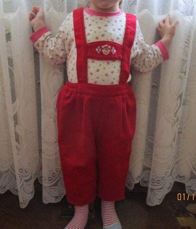 Брючки, штанишки на девочку или мальчика 1.5года
