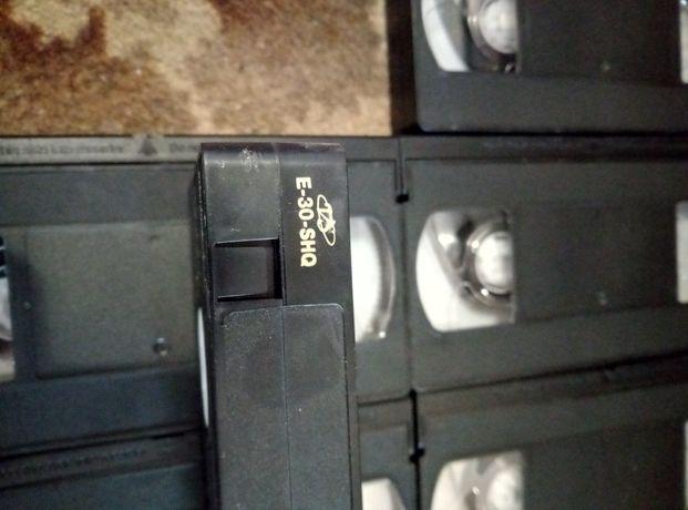 Видео кассеты новенькие!