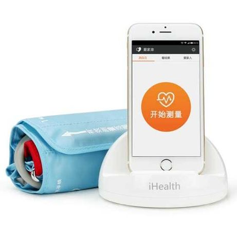 Тонометр Док-станция Xiaomi iHealth для измер. артериального давления