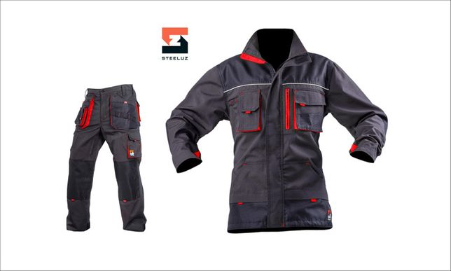Костюм защитный рабочий Steeluz: куртка и брюки, спецодежда