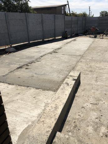 Тротуарна плитка, бетонные и землянные работы. Фундамент. Погреба