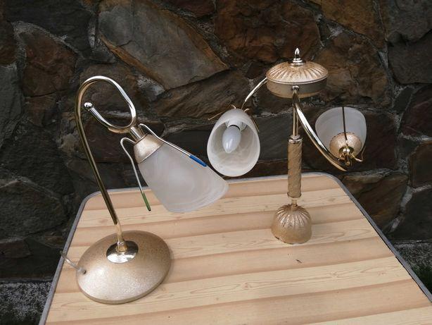 Sprzedam żyrandol i lampkę zestaw