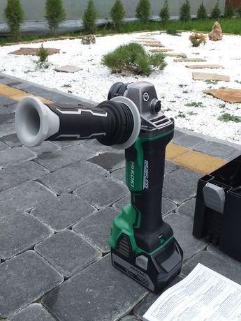 Аккумуляторна болгарка Hitachi hikoki G18DBBVL акумуляторна шліфмашина