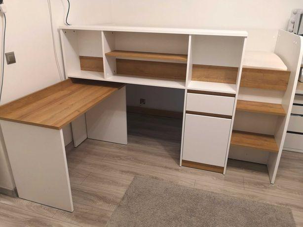 Łóżko dla dziecka piętrowe bez materaca