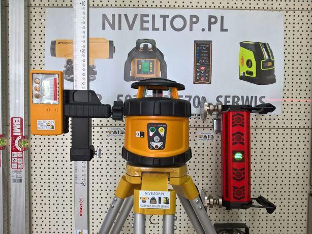 Zestaw do Koparki: Niwelator laserowy + Detektor na koparkę DIGGER5lat