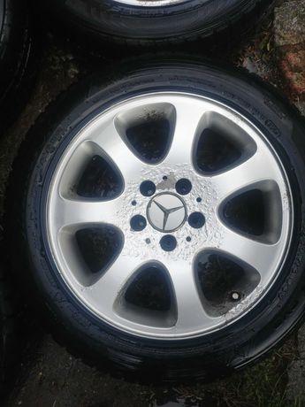 Koła felgi Ori Mercedes CLK 5x112 R16 2xNokian 2xHankook opony zimowe