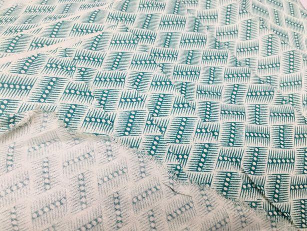 tkanina / materiał do szycia / bawełna z domieszką