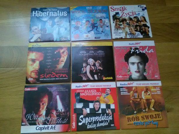 Filmy na DVD z gazet