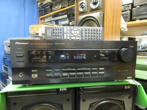 Amplituner Pioneer VSX-609RDS+optyk pilot