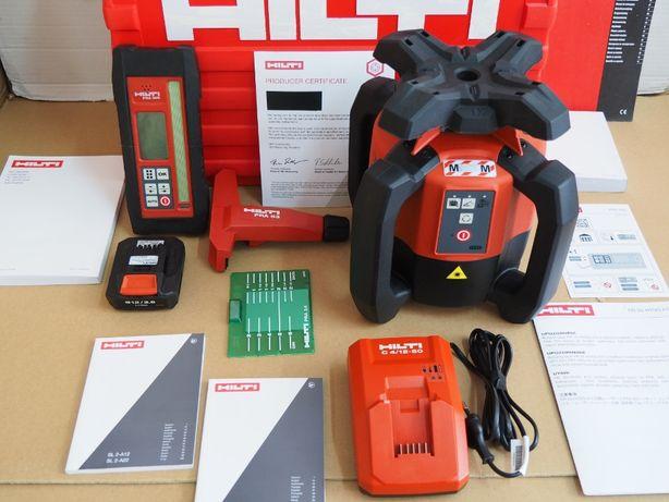Niwelator HILTI PR 30 HVSG A12 z zielonym laserem zestaw aku ladowarka
