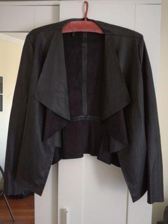 Casaco de couro sintético Zara - tamanho M