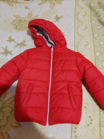 Продам курточку на холодную осень 18-24 мес