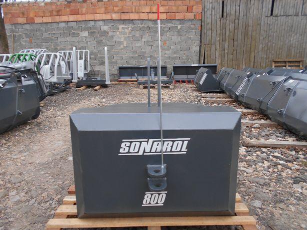 SONAROL Balast Obciążnik na Tuz 800 kg Sonarol OBC SNR 800