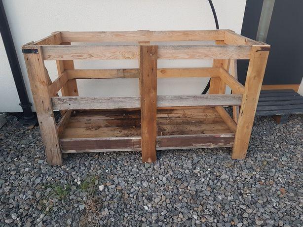 skrzynia drewniana