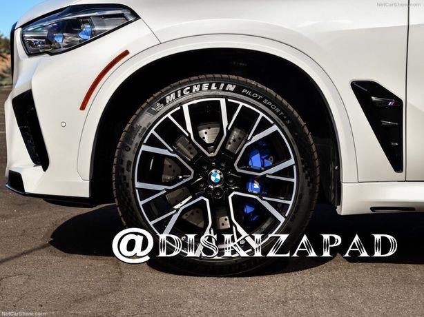 диски 809М стиль R20 на BMW X5 F15 G05 E70 X6 G06 F16 E71 X7 G07