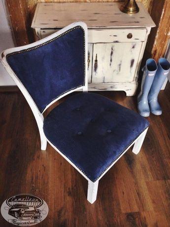 Krzesło retro vintage loft stare Ludwik