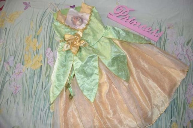 платье принцессы моан 5-6 лет