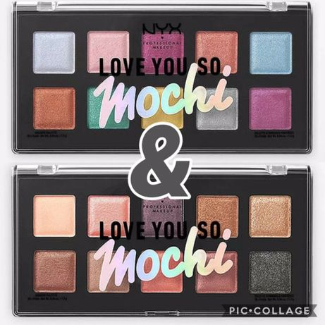 ПАЛЕТКА ТЕНЕЙ, пигментов глаз, лица NYX Love You So Mochi Shadow.Ориги