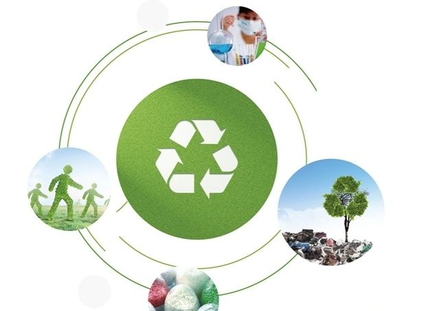 Reciclagem de Plásticos, trituração, lavagem, granulação.