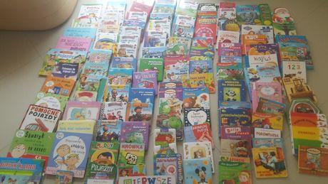 Komplet książek  dla dziecka 137 sztuk