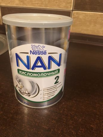 NAN кисломолочный 2